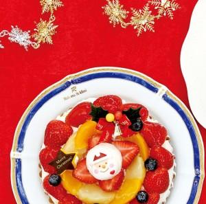 クリスマスケーキサイズ変更-左