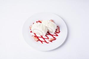 ホワイトチョコプレート
