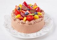 生クリームチョコケーキ-1